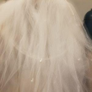 Accessories - 1950s retro vintage bridal wedding veil